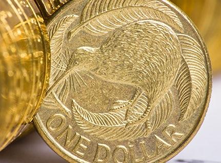 One dollar coins